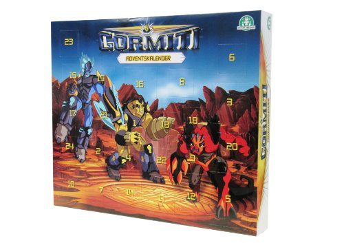 Giochi Preziosi Gormiti 70016051–Neorganic Advent Calendar