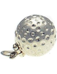 Welded Bliss Sterling 925Silber Golf Ball, Bogey Man, Öffnung Charm wbc1451
