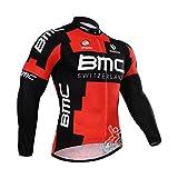 Strgao 2016 Herren Radtrikot Top Langarm Pro Rennen Team BMC Radjacke Radshirt Radfahren Oberteil
