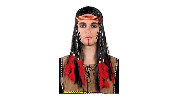 Winnetou Stirnband für Erwachsene Indianer Karneval Kostüm Zubehör