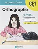 Telecharger Livres Orthographe CE1 (PDF,EPUB,MOBI) gratuits en Francaise