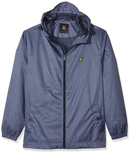 lyle-scott-zip-through-hooded-blouson-homme-bleu-blue-marl-medium-taille-fabricant-m