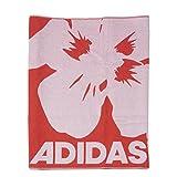 adidas Erwachsene Handtuch Beach Towel LL, Rot/Weiß, One size, 4056562788517