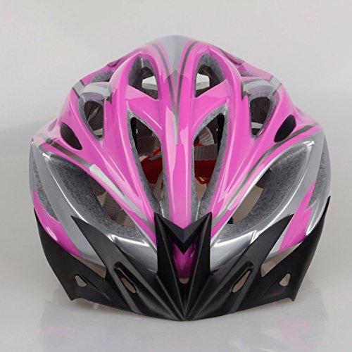 Matry-001 215g Peso Ultra Ligero - Casco extraíble de calidad superior de Airflow Bike para bicicletas de carretera y de montaña - Cascos certificados de seguridad para hombres y mujeres adultos, niños y niñas adolescentes - Protección de seguridad cómoda, ligera y transpirable ( Color : Powder )