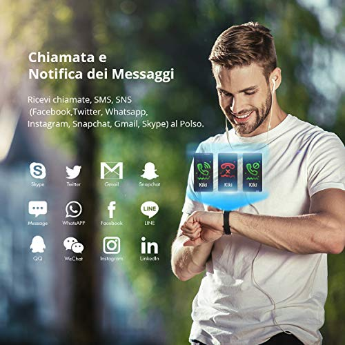 Zoom IMG-3 winisok fitness tracker ip68 orologio