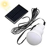 Pinkfishs Tragbare 1W 6V 12 LED Solar Power Wiederaufladbare Gluhbirne Light Outdoor Camping Lantern Yard Lampe Lampe Lampe Lampe Lampe Lampe -