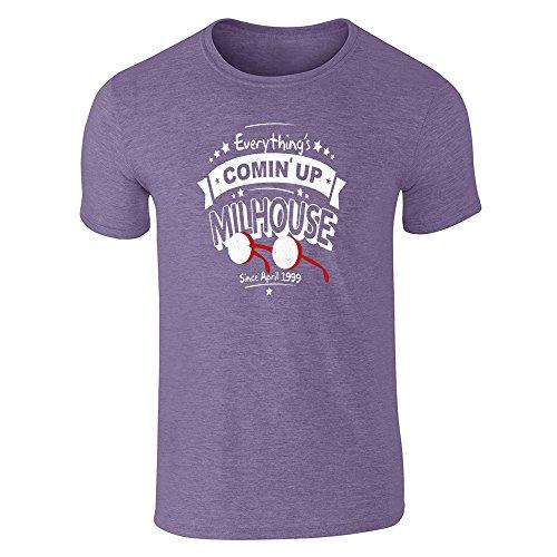 Pop Threads -  T-shirt - Uomo Heather Purple