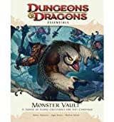 MONSTER VAULT: A HORDE OF ICONIC CREATURES FOR ANY CAMPAIGN [WITH DIE-CUT MONSTER TOKENS AND FOLD-OUT BATTLE MAP AND BOOKLET] BY Thompson, Rodney(Author)11-2010( Paperback )