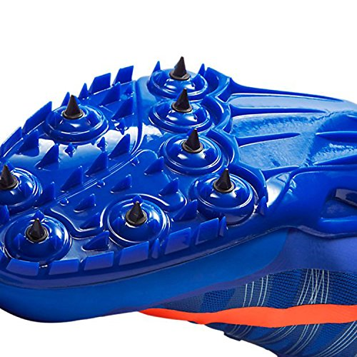 Nike Unisex-Erwachsene Zoom Ja Fly 2 Turnschuhe Azul / Naranja (Racer Blue / Ttl Crmsn-Brly Vlt)