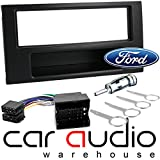 Picture Of Ford C-Max, Connect, Fiesta, Focus, Fusion, Transit Car Stereo Radio Facia Fascia Panel Wiring Harness Fitting Kit