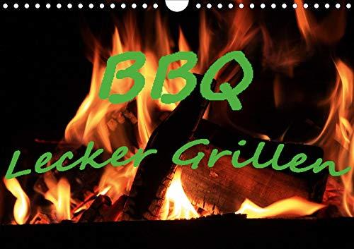 BBQ Lecker Grillen (Wandkalender 2020 DIN A4 quer): Lecker Grillgut , Fleisch, Meeresfrüchte und Gemüse. (Monatskalender, 14 Seiten ) (CALVENDO Lifestyle) -