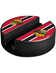Sher-Wood Chicago Blackhawks NHL Puck dispositivo multimedia soporte