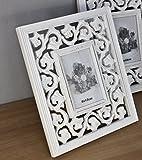 BILDERRAHMEN Fotorahmen weiß antik Neu Stehrahmen Holz barock Rosali Rahmen
