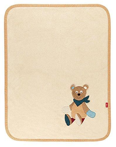 Natures Harvest (sigikid, Mädchen und Jungen, Schmuse-Decke Bär, Maße: 100 x 75 cm, Harvey Harvest, Natur, 41037)