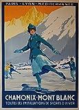 Poster, Vintageposter, Reiseplakat Frankreich-Nach