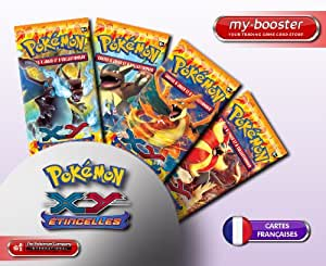 1x Booster Pokemon XY 2 ETINCELLE (Flashfire) Français