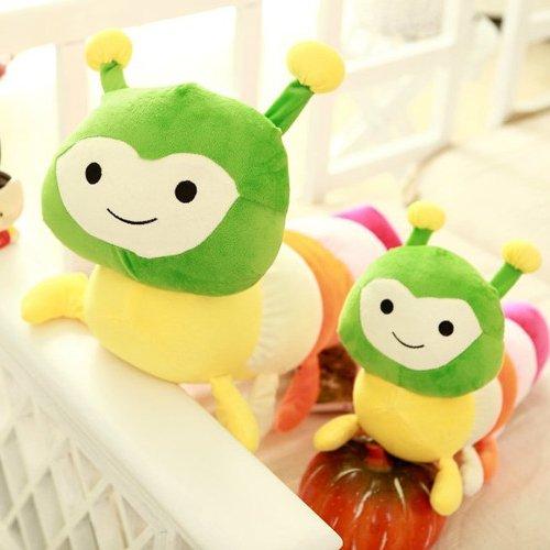 Cengbao bunte Raupe millennium bug Puppe Plüsch Spielzeug Puppe Kissen Geschenk, Koreanische Version, 60 cm (Koreanisch Mädchen Bettwäsche)