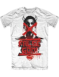 Plastichead Herren T-Shirt Batman V Superman False God