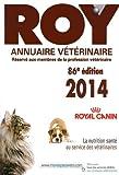 Annuaire vétérinaire Roy 2014