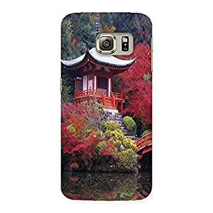 NEO WORLD Remarkable Flowhouse Back Case Cover for Samsung Galaxy S6 Edge Plus