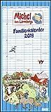 Michel aus Lönneberga Familienkalender 2019 - Familien-Planer mit 5 Spalten - Format 22 x 49 cm