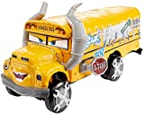 Cars 3- Coche Deluxe - Miss Fritter (Mattel Spain DXV94)