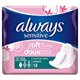 #10: Always Ultra Sensitive Sanitary Pads - Normal With WingsX12 -Pack Of 3