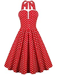 Valin M128118D Robe de bal Vintage pin-up 50's Rockabilly robe de soirée cocktail,S-XXXXL