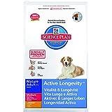 Hill's Canine Mature Adult Senior7+ Huhn 12kg, 1er Pack (1 x 12 kg Packung)