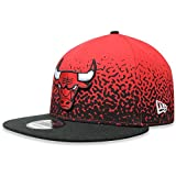 New Era Herren Snapback 9FIFTY Speckle Rise Chicago Bulls NBA Cap, Red