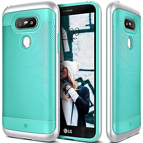 Funda LG G5, Caseology® [Serie Wavelength] Duradero Antideslizante Gota de Protección [Turquesa] para LG G5 (2016) -