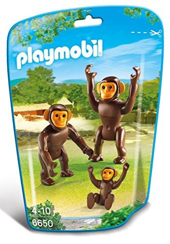 PLAYMOBIL - Familia del chimpancé 6650