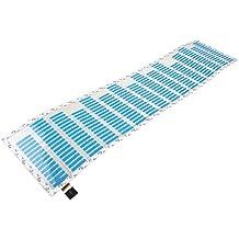 Pegatinas de musica de ritmo - TOOGOO(R) pegatinas de musica de ritmo de coches ecualizador resplandor azul de luz LED de la lampara de voz audio