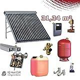 Solaranlage TWL EtaSunPro HLK30-7 Vakuumröhrenkollektorset 31,43 m²