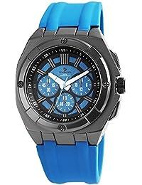 timento Analog Reloj de hombre, silicona, diámetro de 50mm, color azul–540073100005