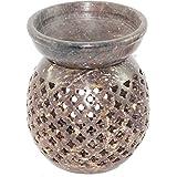 Brahmz Aroma Oil Burner Diffuser-Marble/soapstone Diffuser Essential Oil Warmer M-1