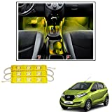 #8: Vheelocityin 9 LED Custom Cuttable Bike/ Car Yellow Light for Interior/ Exterior For Datsun Redigo