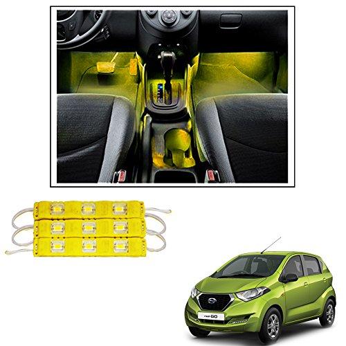 Vheelocityin 9 LED Custom Cuttable Bike/ Car Yellow Light for...