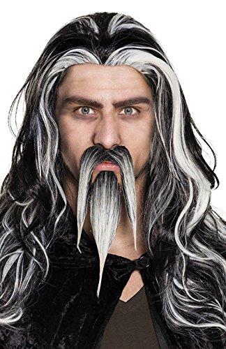 Boland 01825 Schnurrbart und Spitzbart Zauberer, Kostüm, One (Kostüme Zauberer Erwachsenen Magic)