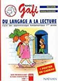 Image de Du langage à la lecture. Ensemble pédagogique Gafi, Grande Section