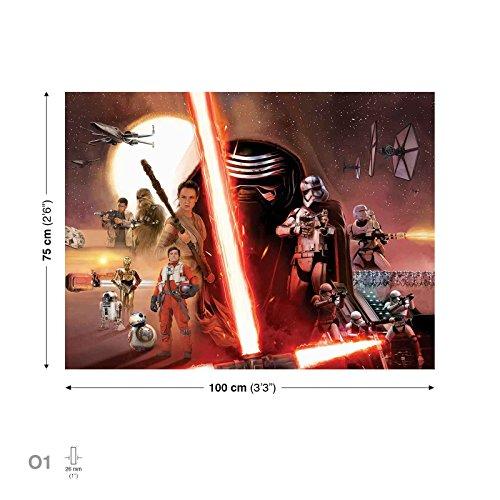 Star Wars Episode 7 Erwachen Macht Leinwand Bilder (PPD1910O1FW)