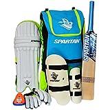 Spartan Cricket Junior Complete Batting Set with Accessories Size 4(7-9 Years) Size 5 (10-13 Years) Size 6 (12-14 Years) for Juniors