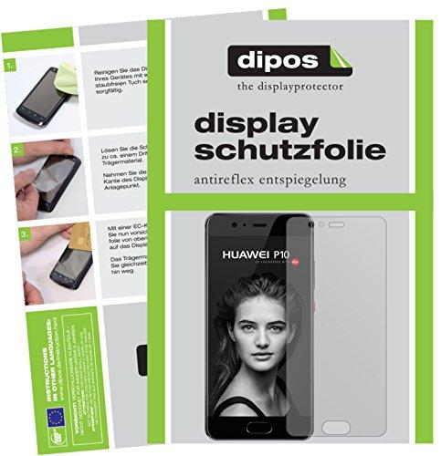 Huawei P10 Schutzfolie - 2x dipos Displayschutzfolie Folie matt