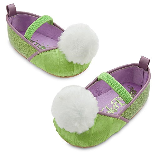 Disney Store Deluxe Tinker Bell Tinkerbell Costume Shoes Baby Size 12-18 ()