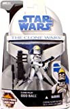 Clone Pilot Odd Ball with Firing Cannon CW No.11 - Star Wars The Clone Wars Collection 2008 von Hasbro