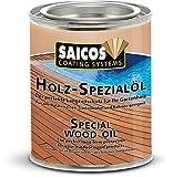Saicos Holz-Spezialöl 125ml Holzschutz für den Innen- und Außenbereich 0110 Farblos
