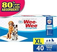 Wee Wee Dog Pee Pads Extra Large | 40 Count | Puppy.