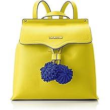 Moschino Portacel.small Grain Pu Giallo, Pochettes femme, (Yellow), 1x15x8 cm (B x H T)