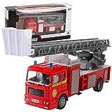 Mamum, Spielzeugauto, Feuerwehrauto, Automodell, Aluminiumspritzguss, Technik, Spielzeug für Kinder, Geburtstagsgeschenk, Orange  Einheitsgröße C