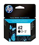 HP 62 C2P04AE Cartuccia Originale per Stampanti a Getto d'Inchiostro, Compatibile con Envy All in One 5540, 5642, 5644, 5742, 7640, l'Officejet 5740 e l'Officejet Serie 200, Nero